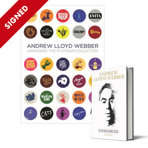 Andrew Lloyd Webber: Unmasked Book + The Platinum Collection: Signed Limited Edition CD