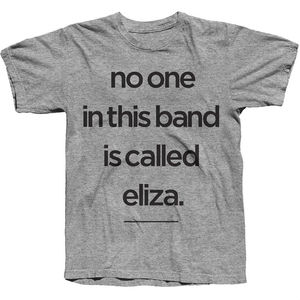 Eliza And The Bear: Grey No Eliza T-Shirt