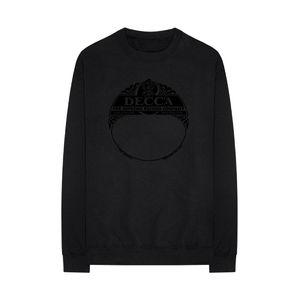 Various Artists: DECCA SUPREME range black sweatshirt