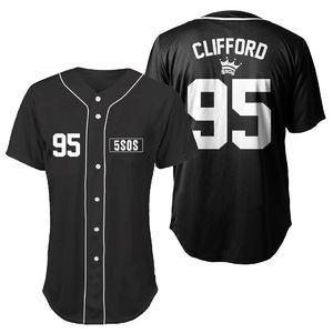 5 Seconds of Summer: Clifford Baseball Shirt