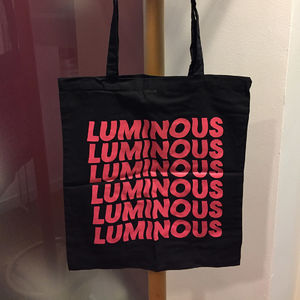The Horrors: 'Luminous' Double Sided, Screen Printed Tote Bag