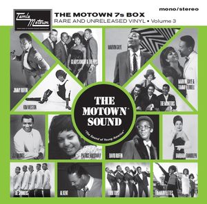 Various Artists: The Motown 7s Vinyl Box Volume 3 + Limited Edition Poster
