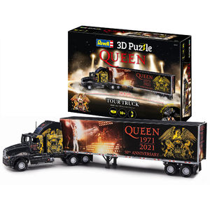 Queen: Queen Tour Truck - 50th Anniversary 3D Puzzle