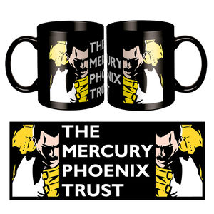 Freddie For A Day: Mercury Phoenix Black Mug