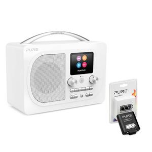 Pure: Evoke H4 Prestige Edition, White, EU/UK + ChargePAK F1