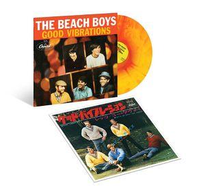 The Beach Boys: GOOD VIBRATIONS - SUNBURST VINYL EP