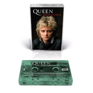 Queen: Greatest Hits Collectors Edition Roger Cover (Transparent Green)