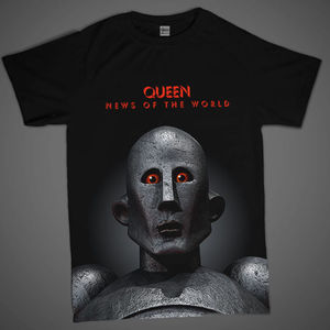 Queen: News Of The World 'Frank' T-Shirt