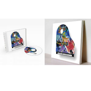 Rick Wakeman: Piano Portraits + Signed Canvas & CD