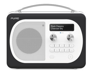Pure: Evoke D4 Mio with Bluetooth (Charcoal)