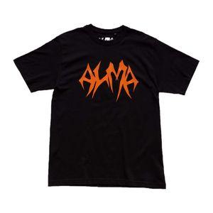 ALMA: Black Short Sleeved T-Shirt