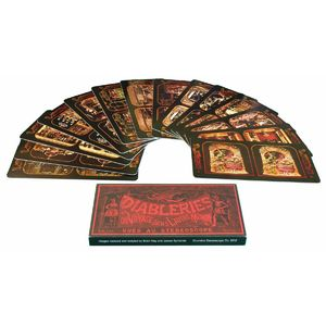 London Stereoscopic Company: Diableries Series A: Set of 12 Stereo Cards (13-24)