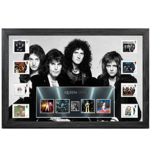 Queen: Framed Stamps and Miniature Sheet