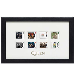 Queen: Framed Stamp Set