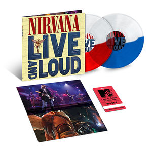 Nirvana: Live And Loud: Exclusive Split Colour Double Vinyl