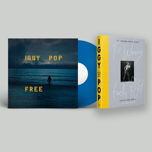 Iggy Pop: Free, 'Til Wrong Feels Right: Exclusive Sea Blue Bundle