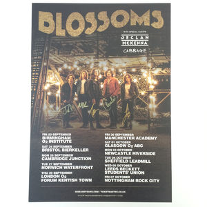 Blossoms: Signed Blossoms Tour Print