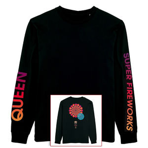 Queen: Super Fireworks Longsleeve T-Shirt