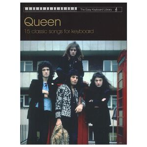 Queen: 15 Classic Songs For Keyboard (Partitions clavier)