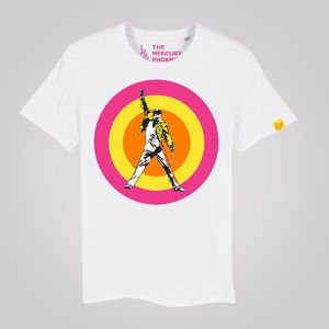 1863834f Freddie For A Day: MPT Official Freddie Target T-Shirt White