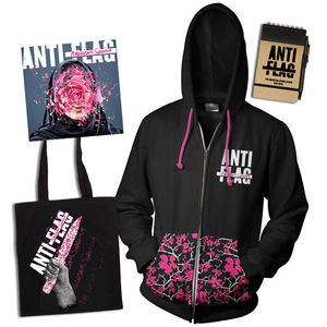 Anti-Flag: CD & American Spring Hoodie, Tote Bag and Notepad