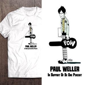 Paul Weller: Paul Weller Signed Charity T-Shirt