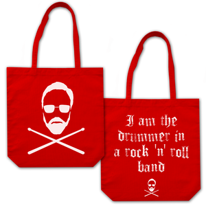 Roger Taylor: 'Taylored' Tote Bag Red