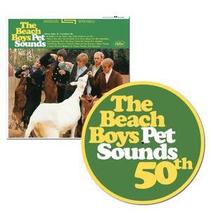 The Beach Boys: Pet Sounds: Stereo Vinyl + Exclusive 50th Anniversary Slip Mat