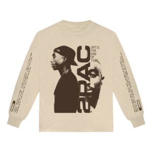 2Pac: UNTIL THE END OF TIME TRACKLIST LONG SLEEVE