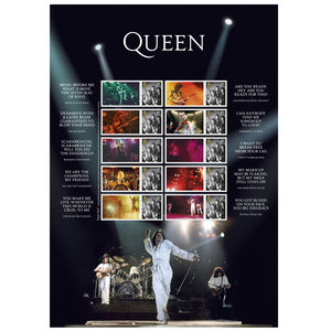 Queen: Live Collector's Sheet