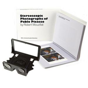 London Stereoscopic Company: Stereoscopic Photographs of Pablo Picasso (Paperback) + OWL Stereoscopic Viewer (Black)