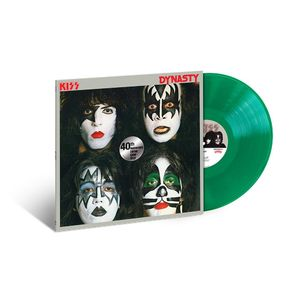 Kiss: Dynasty: 40th Anniversary Exclusive Translucent Green Vinyl