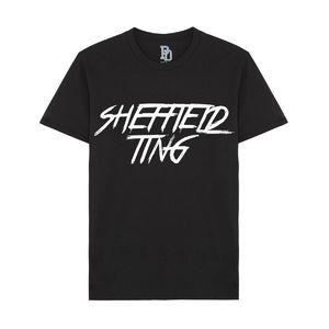I Play Dirty: Sheffield Ting Black T-shirt
