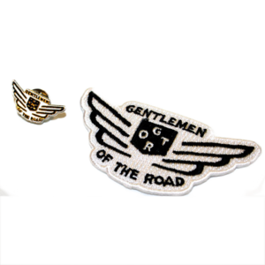 Mumford & Sons : Wings Pin + Patch