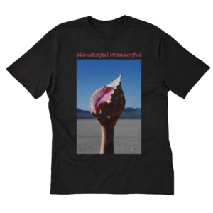 The Killers: Wonderful Wonderful Black T-Shirt