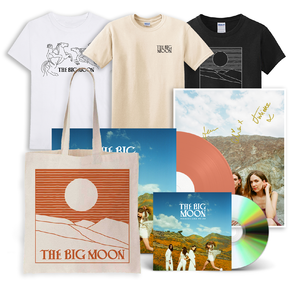 The Big Moon: CD + Limited Edition Orange Vinyl + Signed Art Card + T-Shirt + Tote Bag
