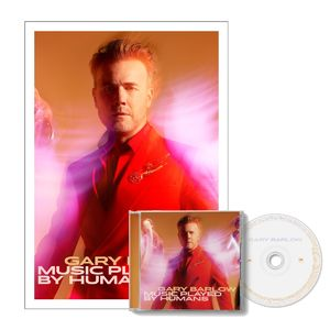 Gary Barlow: Music Played By Humans CD & Litho