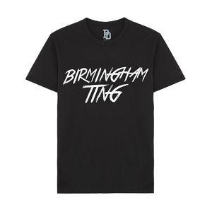 I Play Dirty: Birmingham Ting Black T-shirt