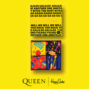Queen: Happy Socks Queen 4-Pack Gift Box
