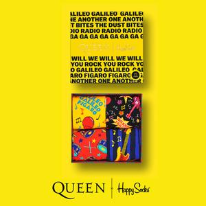 Queen: Happy Socks Queen 4-Pack Gift Box