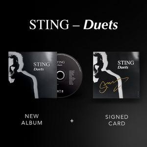 Sting: Duets CD + Signed Artcard
