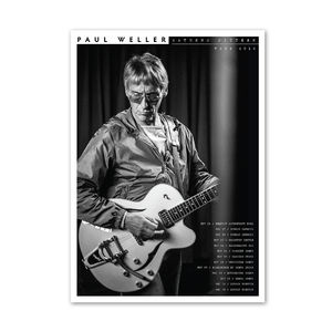 Paul Weller: Saturns Pattern Tour Litho 2
