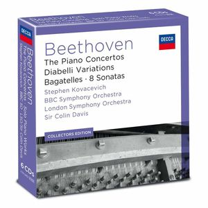 Stephen Kovacevich: Beethoven: The Piano Concertos & Works