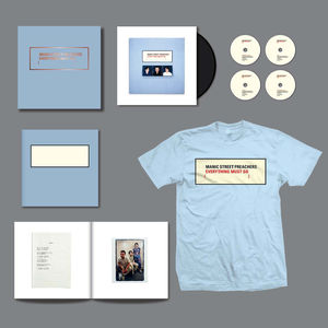 Manic Street Preachers: Everything Must Go 20: Limited Edition Boxset + T-Shirt Bundle