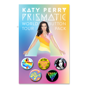 Katy Perry: Prism Button Pack