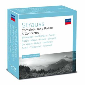 Various: Richard Strauss: Complete Tone Poems & Concertos