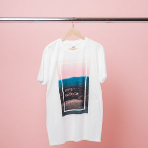 The 1975: She's American Neon T-Shirt