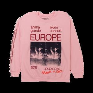 Ariana Grande: LIVE IN EUROPE 1993 CREWNECK