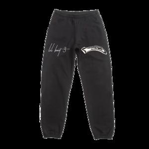 Lil Yachty: LB3 ID BLACK SWEATPANTS