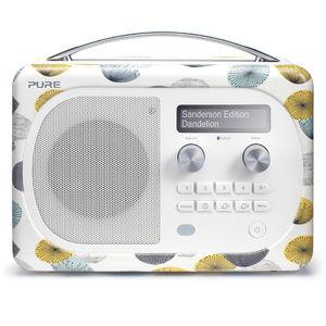 Pure: Evoke D4 Mio with Bluetooth (Sanderson, Dandelion Clocks)